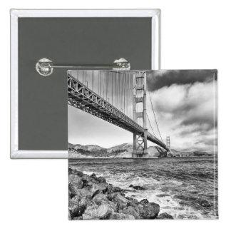 Golden Gate Bridge, California Pinback Button