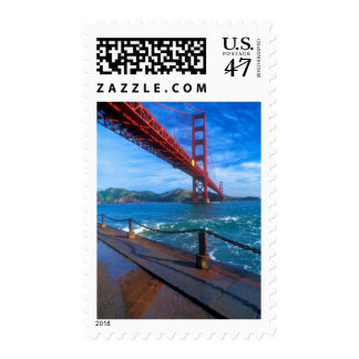 Golden Gate Bridge, California Postage