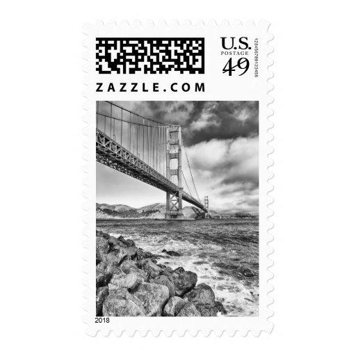 Golden Gate Bridge, California Postage Stamp