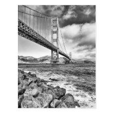 Golden Gate Bridge, California Postcard