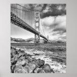 Golden Gate Bridge, California Poster