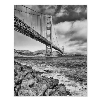 Golden Gate Bridge, California Poster