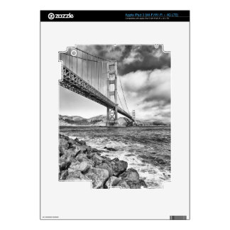 Golden Gate Bridge, California Skins For iPad 3