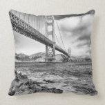 Golden Gate Bridge, California Throw Pillow