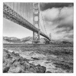 Golden Gate Bridge, California Tile