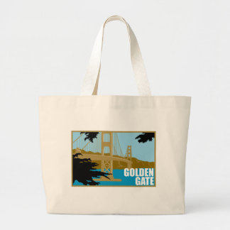 Golden Gate Bridge Canvas Bags