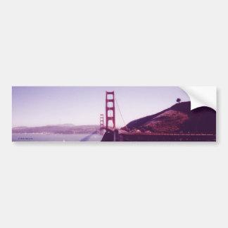 Golden Gate Bridge Car Bumper Sticker