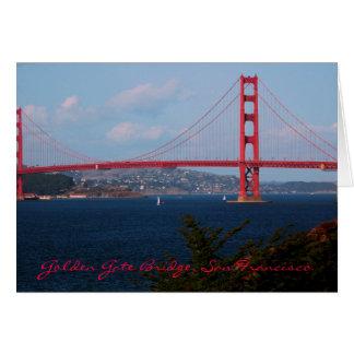 Golden Gate Bridge Card
