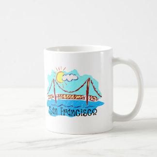 Golden Gate Bridge Classic White Coffee Mug