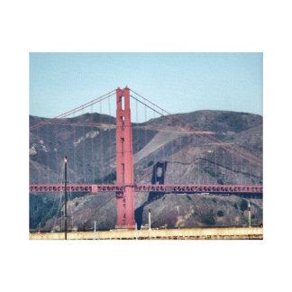 Golden Gate Bridge Closeup Canvas Print