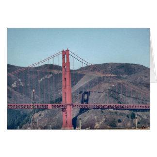Golden Gate Bridge Closeup Greeting Cards