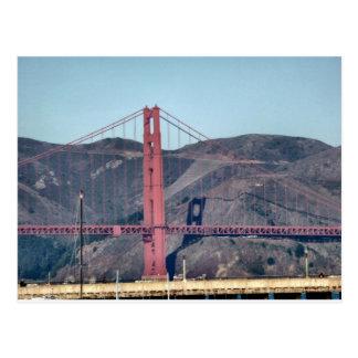 Golden Gate Bridge Closeup Post Cards