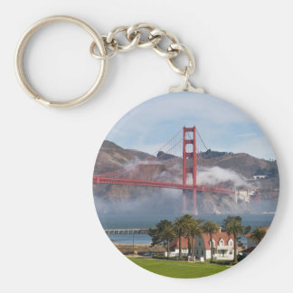 Golden Gate Bridge Coast Guard Station Keychain