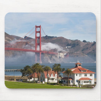 Golden Gate Bridge Coast Guard Station Mouse Pad