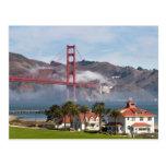 Golden Gate Bridge Coast Guard Station Postcards