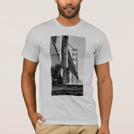 Golden Gate Bridge Construction T-Shirt
