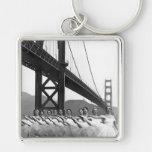 Golden Gate Bridge Dancers Key Chains