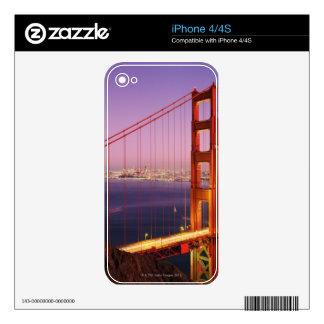 Golden Gate Bridge Decal For iPhone 4