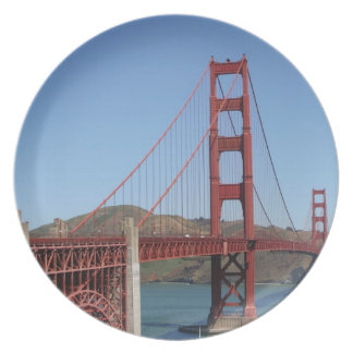 Golden Gate Bridge Dinner Plate