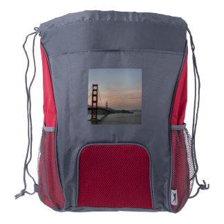 Golden Gate Bridge Drawstring Backpack