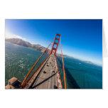 Golden Gate Bridge Driver View Card