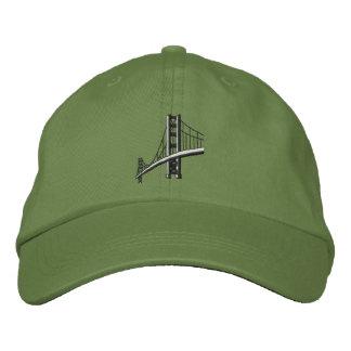 Golden Gate Bridge Embroidered Baseball Hat