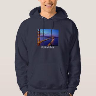 Golden Gate Bridge Evening View Hooded Sweater