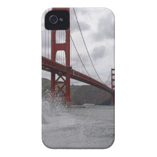 Golden Gate Bridge (Fog) iPhone 4 Case-Mate Case
