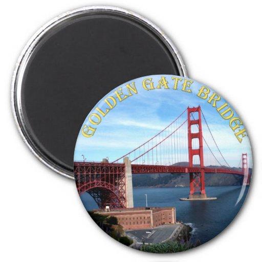 Golden Gate Bridge Fridge Magnet