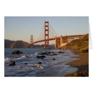Golden Gate Bridge from Baker Beach Greeting Cards