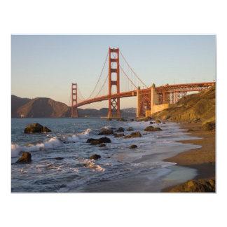Golden Gate Bridge from Baker Beach Card