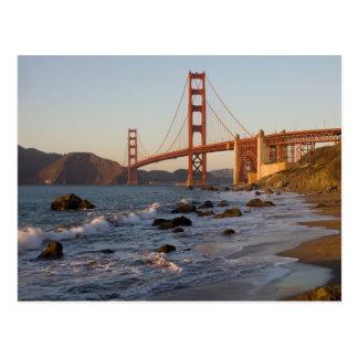 Golden Gate Bridge from Baker Beach Postcard