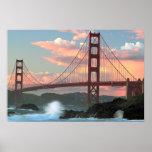 Golden Gate Bridge from Baker Beach Poster