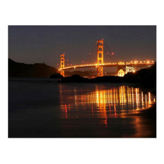 Golden Gate bridge from Barker Beach Postcards