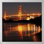 Golden Gate bridge from Barker Beach Posters