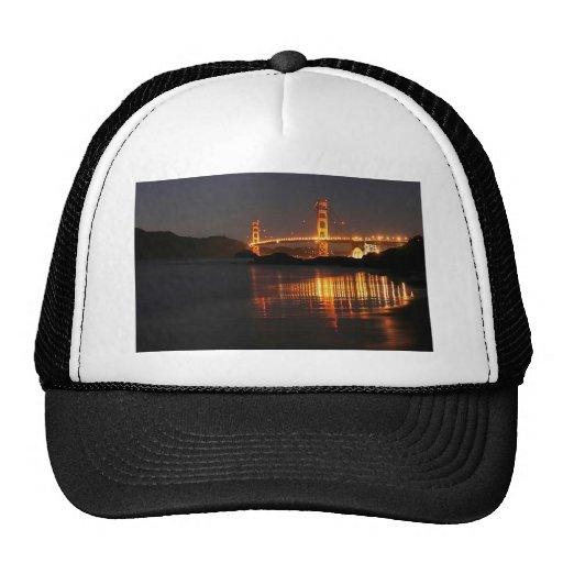 Golden Gate bridge from Barker Beach Trucker Hats