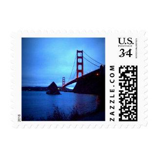 Golden Gate Bridge from Cavallo Point - Fort Baker Postage