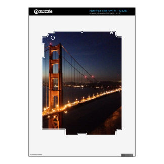 Golden Gate Bridge from Marin headlands iPad 3 Skin
