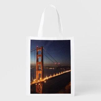 Golden Gate Bridge from Marin headlands Market Totes