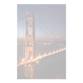Golden Gate Bridge from Marin headlands Stationery