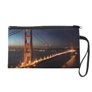 Golden Gate Bridge from Marin headlands Wristlet Purse