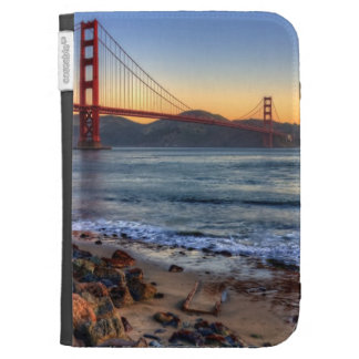 Golden Gate Bridge from San Francisco bay trail. Case For The Kindle