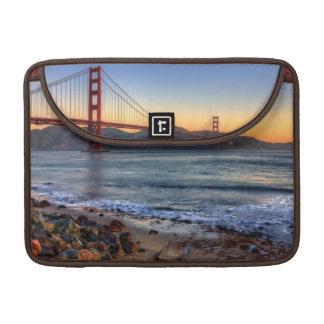 Golden Gate Bridge from San Francisco bay trail. MacBook Pro Sleeves