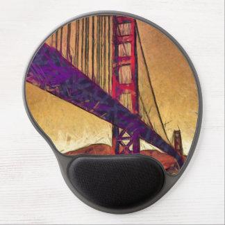 Golden gate bridge gel mouse pad