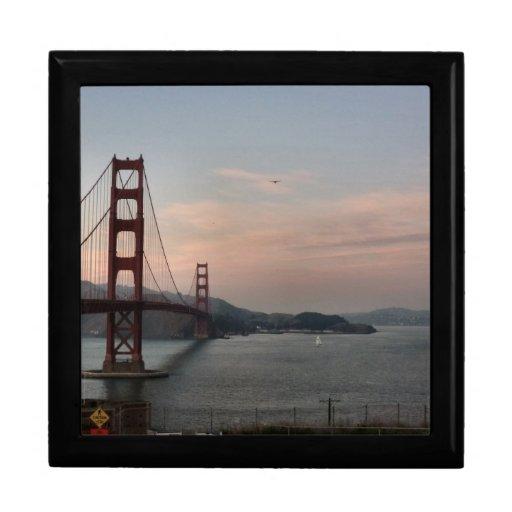 Golden Gate Bridge Giftbox Keepsake Box
