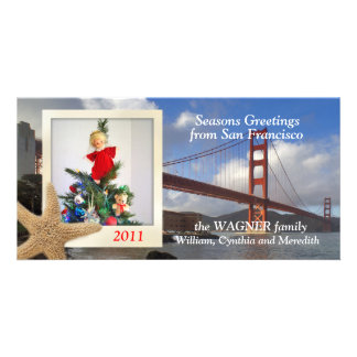 Golden Gate Bridge Greetings Card