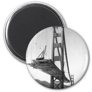 Golden Gate Bridge I 2 Inch Round Magnet