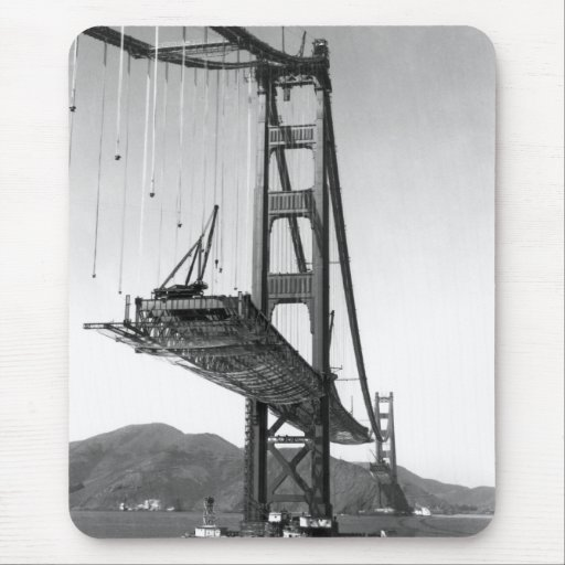 Golden Gate Bridge I Mouse Pads