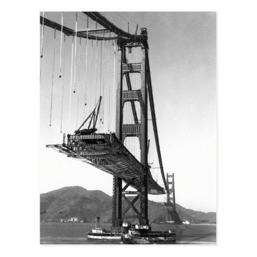 Golden Gate Bridge I Postcard