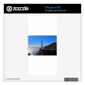 Golden Gate Bridge II Decal For The iPhone 4S